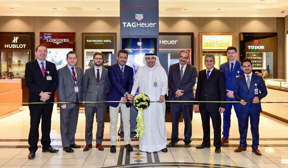 Bahrain Duty Free opens luxury watch boutique with Rolex, Omega, Breitling, Tag Heuer & more