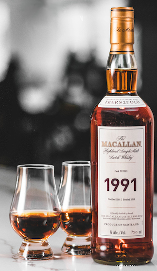 Macallan expands Fine & Rare collection with $10,000 1991 vintage Scotch