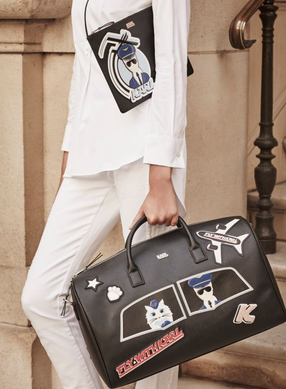Get ready to Fly with Karl (and Choupette) this Spring