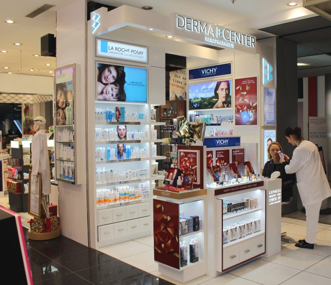 L'Oreal's DermaCenter touches down at Paris CDG