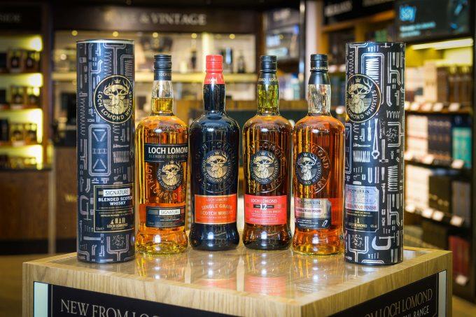 Loch Lomond whiskies make duty-free debut at Glasgow airport