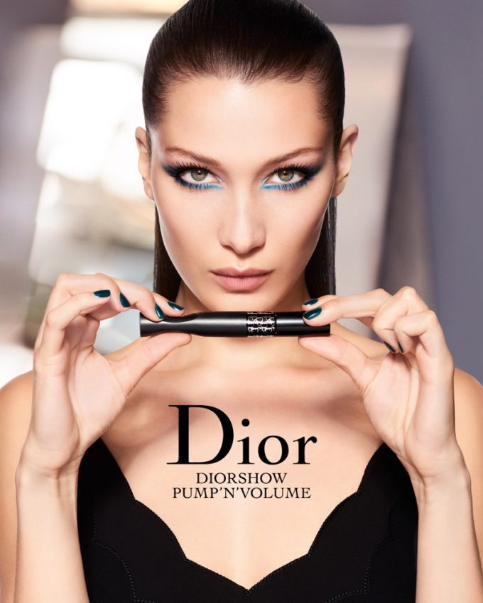 Bella Hadid stars in her first Dior makeup campaign