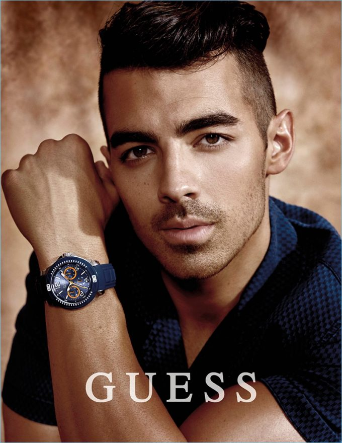 Joe Jonas fronts new Guess watch campaign