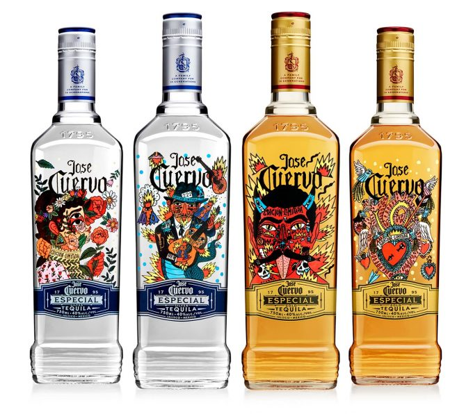 Jose Cuervo celebrates 222 years with limited edition artist bottle series