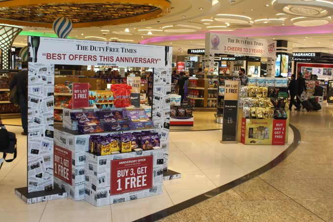 Mumbai Duty Free celebrates 3rd birthday with deals for travellers