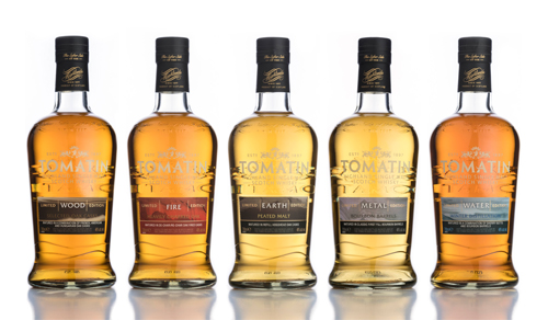 Tomatin distillery unveils Five Virtues malt whisky range