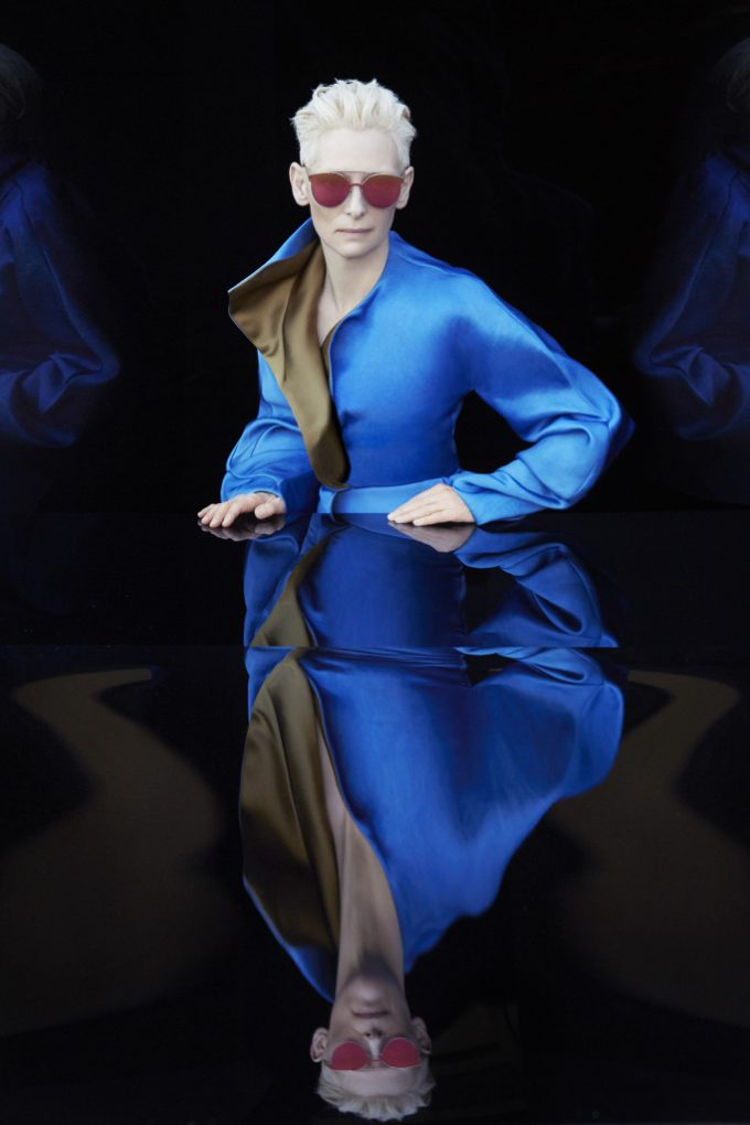 Tilda Swinton & Gentle Monster team up on Sunglasses line