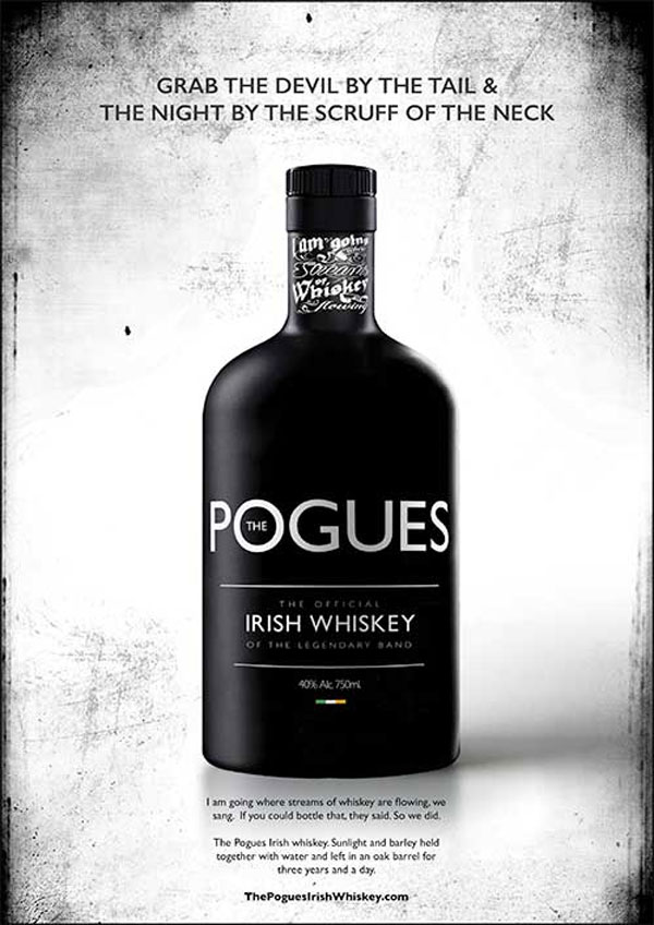Aelia Duty Free offers flyers a taste of Ireland with The Pogues Irish whiskey