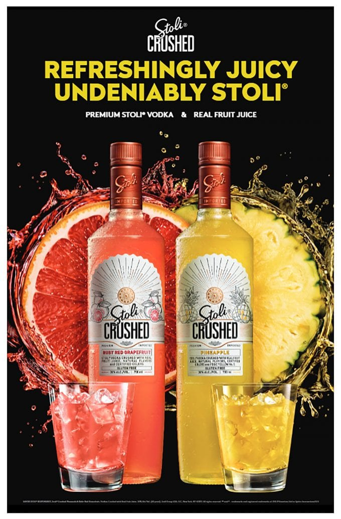 Stoli launches the first premium vodka made with real fruit