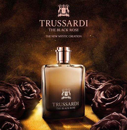 Trussardi Parfums unveils new unisex scent The Black Rose