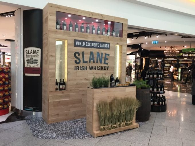 Slane Irish Whiskey makes exclusive duty-free debut with The Loop