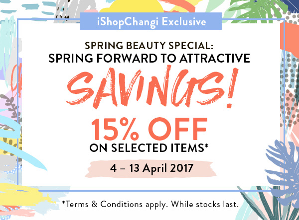 SAVE: 15% off luxury beauty at Singapore Changi this Spring with Shilla Duty Free