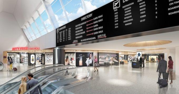 British Airways shows off New York JFK Terminal 7 redesign
