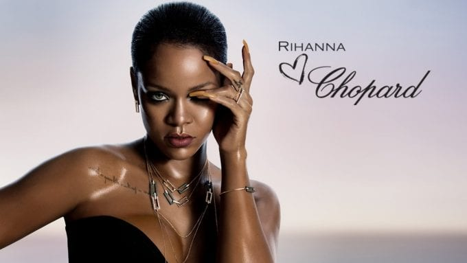 Rihanna shows her ♥ for Chopard with jewellery collaboration