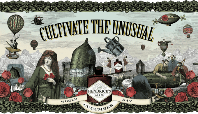 Hendrick's Gin readies for World Cucumber Day in duty-free