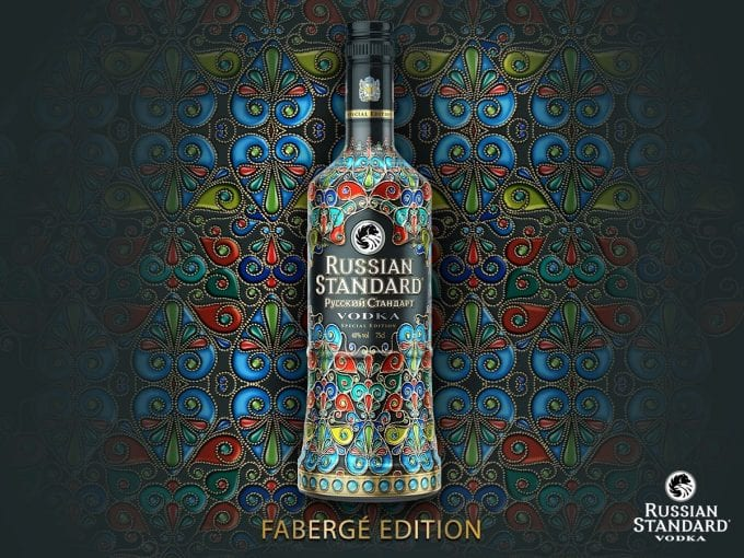 Russian Standard unveils limited edition Fabergé bottle
