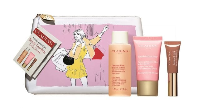 World Duty Free & Clarins reward beauty shoppers with gifts