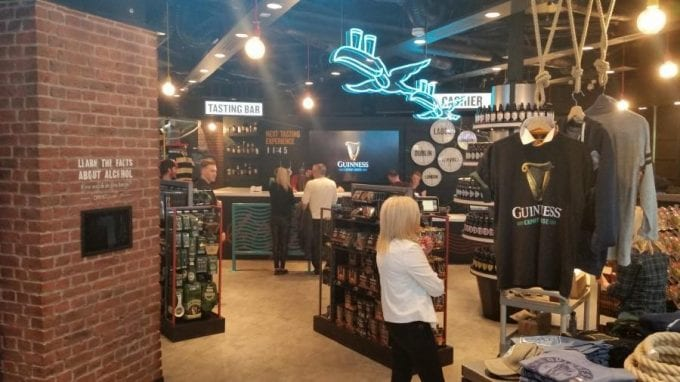 Dublin airport's The Loop Duty Free opens world's first Guinness Export House