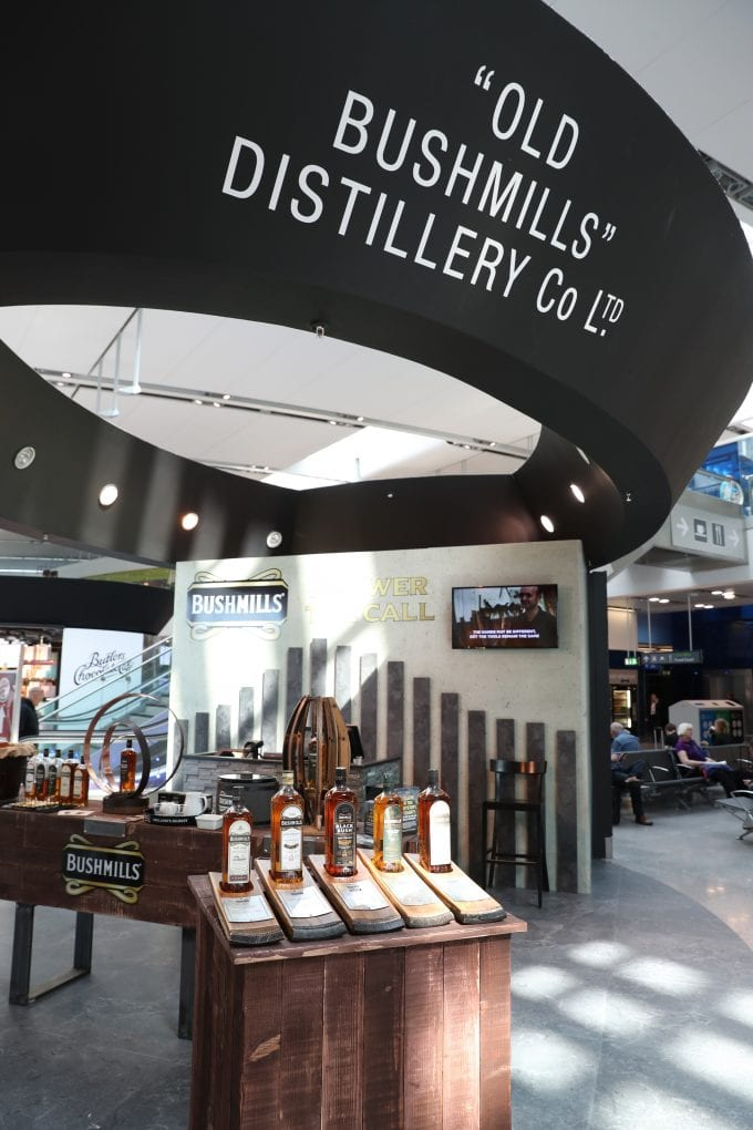 Bushmills pops-up at Dublin Airport duty-free