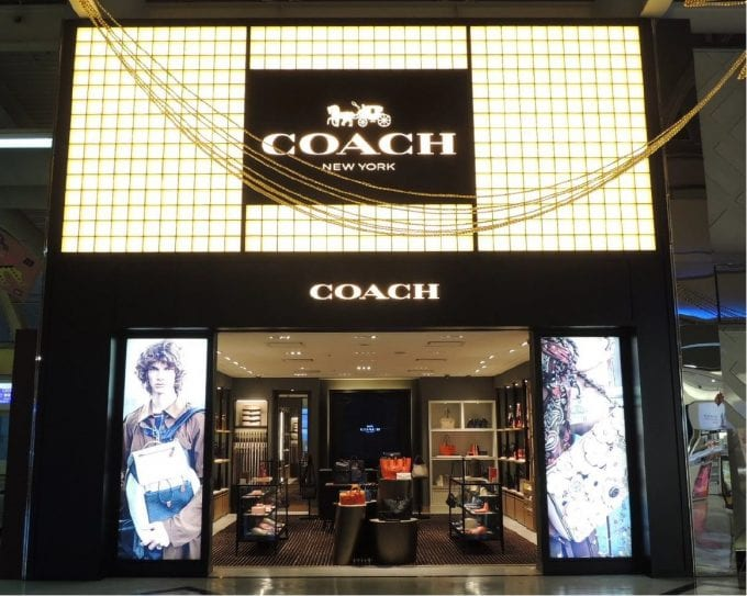 Coach opens new stores at Jakarta & Singapore airports