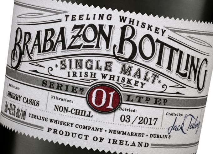 Teeling whiskey lands Brabazon Bottling at Dublin airport