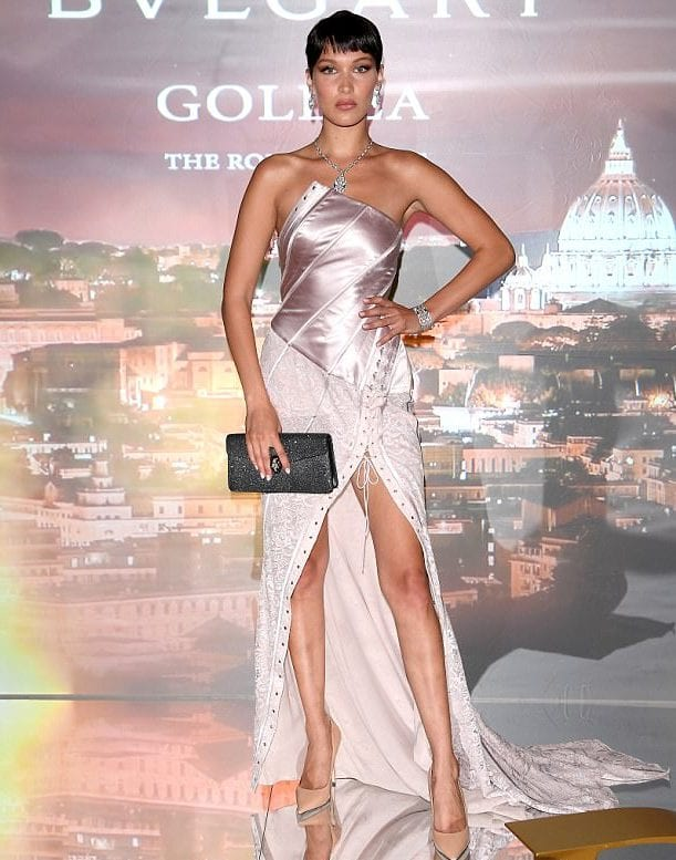 Bulgari reveals Bella Hadid as the face of a new Goldea fragrance