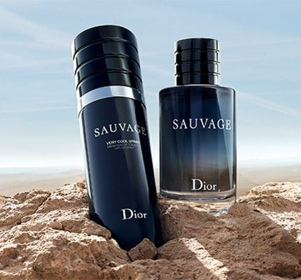 Dior goes wild with Sauvage Very Cool line