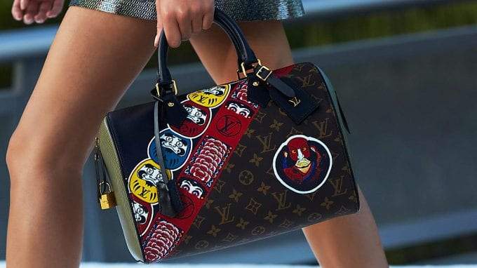 Louis Vuitton reveals Kabuki bags in Cruise collection