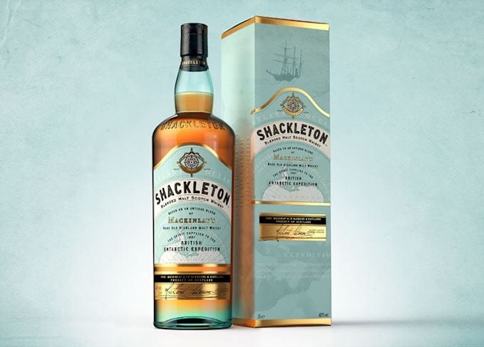 FIRST LOOK: Shackleton Malt Whisky inspired by explorer arrives in duty-free