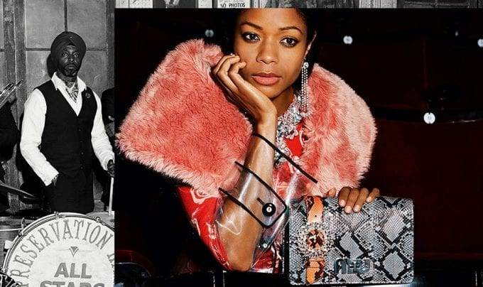 Miu Miu plays Jazz with Kate Moss, Naomie Harris and the Preservation Hall Brass Band