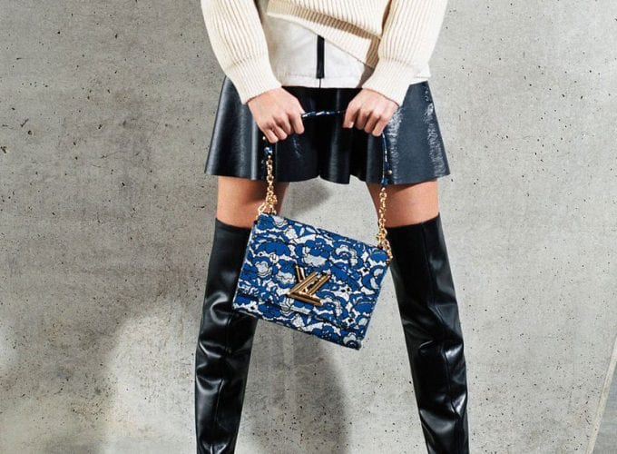 FIRST LOOK: Louis Vuitton's new bags & boots have arrived