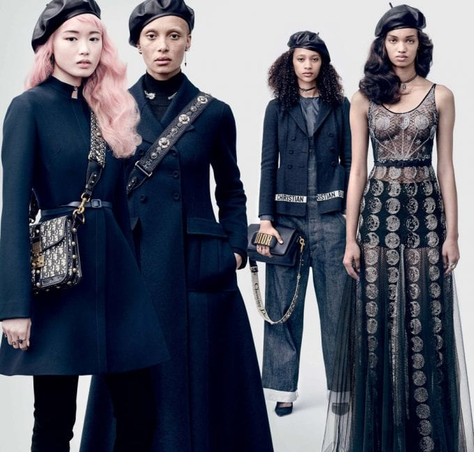 Blues & Twos – Dior shows Autumn looks in campaign