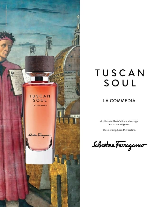 Ferragamo reveals La Commedia 'a sinful elixir of spices'