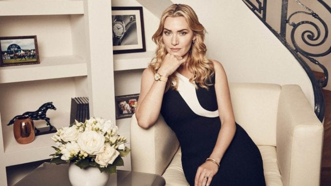 Kate Winslet launches the exclusive Longines Flagship Heritage timepiece