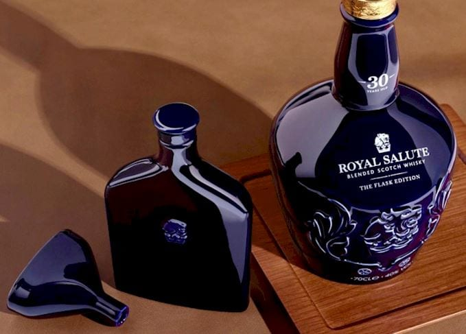 Royal Salute unveils exclusive 30yo The Flask Edition
