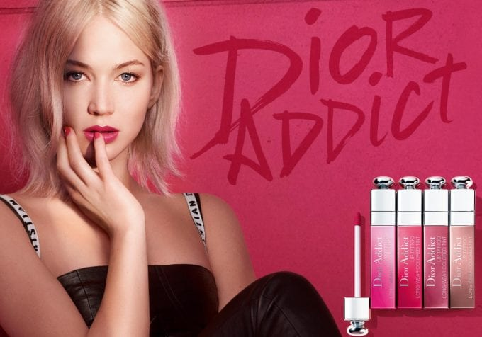 Dior Addict makeup debuts Tattoo lip lineup