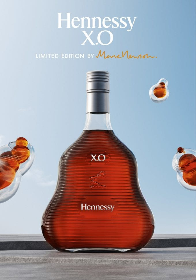 Hennessy reveals limited edition X.O designed by Marc Newson