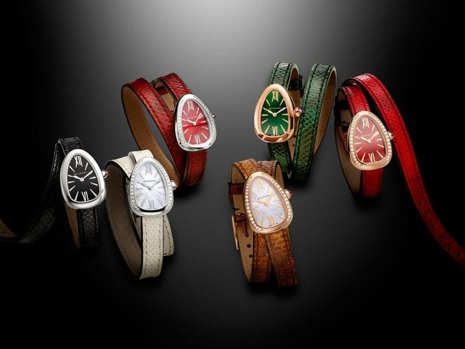 Bulgari twists time with new Serpenti watches