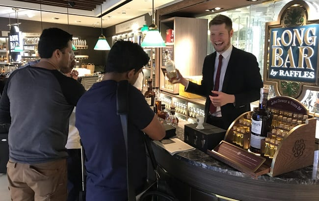 DFS opens John Dewar & Sons Fine Whisky Emporium at Singapore Changi