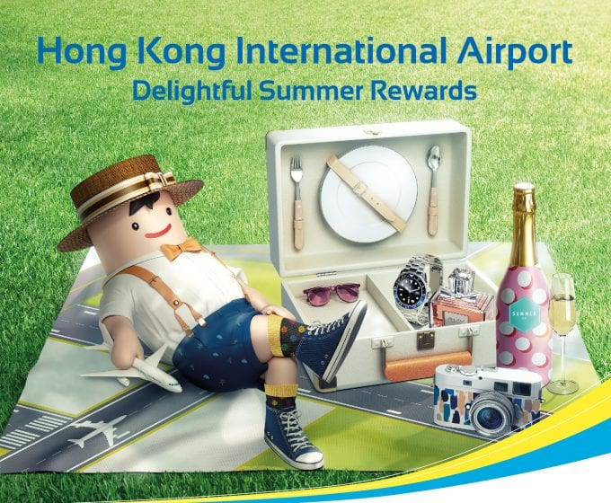 Hong Kong Airport delights shoppers with instant cash coupons