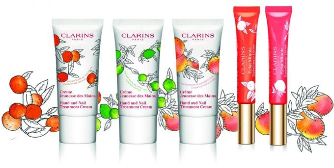 Clarins unveils Citrus limited editions of its most iconic products