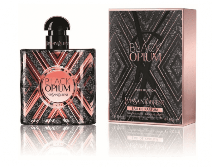 YSL unveils Black Opium Pure Illusion limited edition