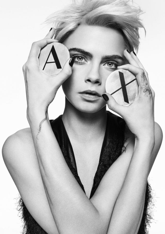 Cara Delevingne leads the way for A|X Armani Exchange