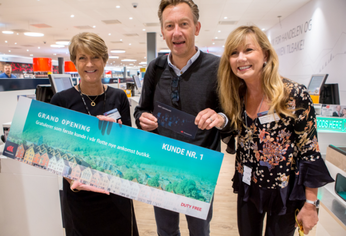 Bergen Airport welcomes new Heinemann duty-free stores