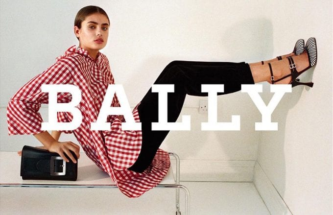 Bally unveils Taylor Hill as new face for Autumn campaign