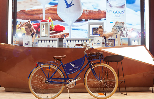 Cocktail time? Grey Goose pops up at Melbourne airport