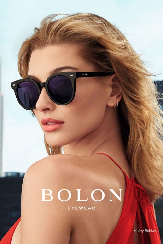 Hailey Baldwin stars in Bolon Eyewear campaign