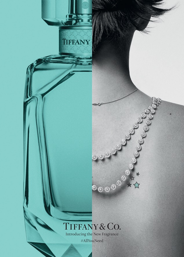 First Look: Tiffany & Co. unveils its bold new fragrance