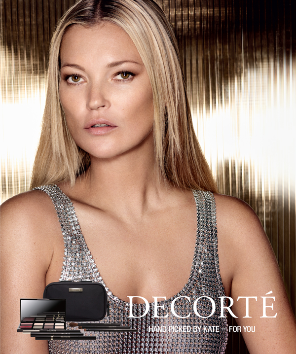 Kate Moss collaborates with Japan's DECORTÉ beauty brand