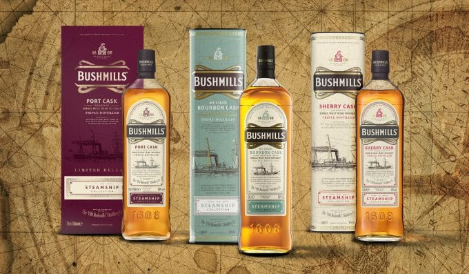 Bushmills Irish Whiskey introduces Bourbon #3 Char Cask Reserve exclusive to duty-free